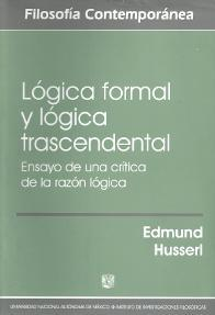 Logica formal y logica trascendental