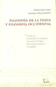 Filosofia de la india y filosofia occidental